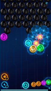 MB2: glowing neon bubbles