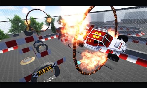 3D Extreme Stunt Formula Racer