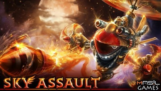 SKY ASSAULT: 3D Flight Action