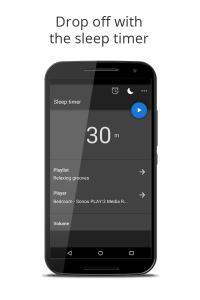Music Alarm Clock Sleep Timer