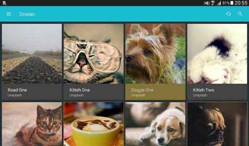 Drisian - A Wallpaper App