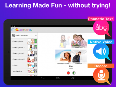 Learn &Play Languages Beginner