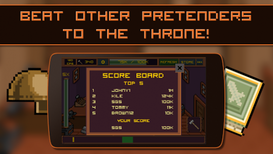 King of Smiths: Clicker game