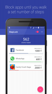 StepLock * Walk & Unblock Apps