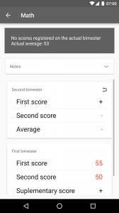 Studere - Scores and Schedule
