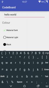 CodeBoard- Keyboard for Coding