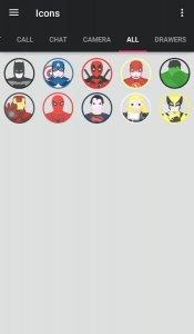 The Superhero-Icon Pack/Theme