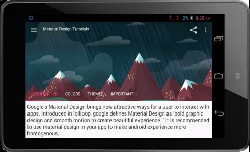 Material Design Tutorials