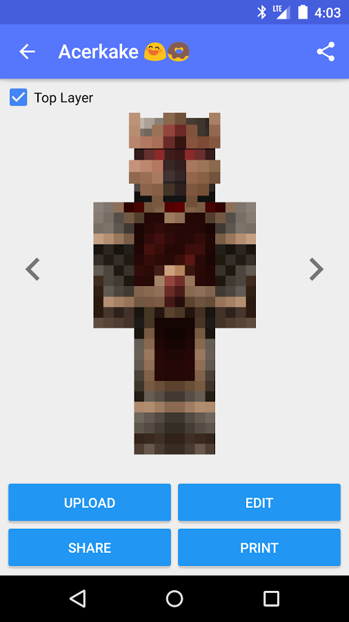 Skin Creator For Minecraft Apk Thing Android Apps Free Download - Skins para minecraft 1 8 pirata
