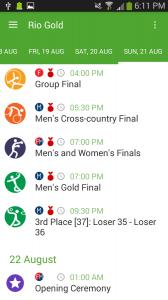 Rio Gold - Summer Games 2016