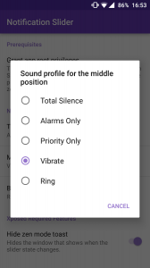 Notification Slider