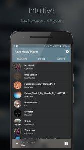 Rave Music Player (BETA) (Unreleased)