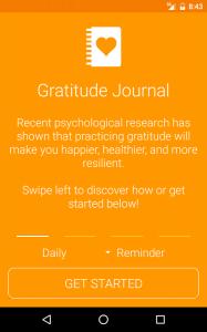 Simple Gratitude Journal