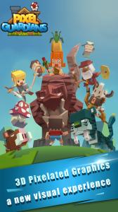 Pixel Guardians-Auto Fight