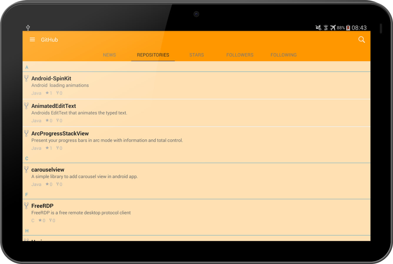 Client for GitHub » Apk Thing - Android Apps Free Download