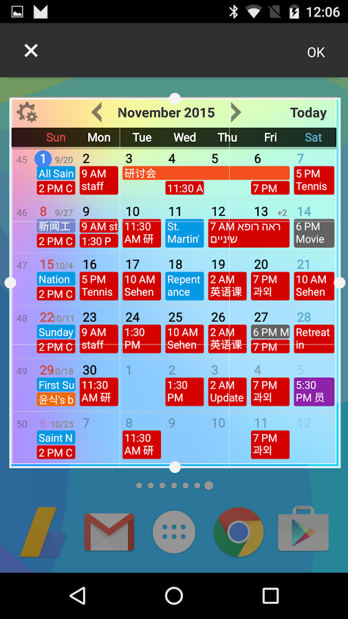 calendar widgets 187 apk thing android apps free