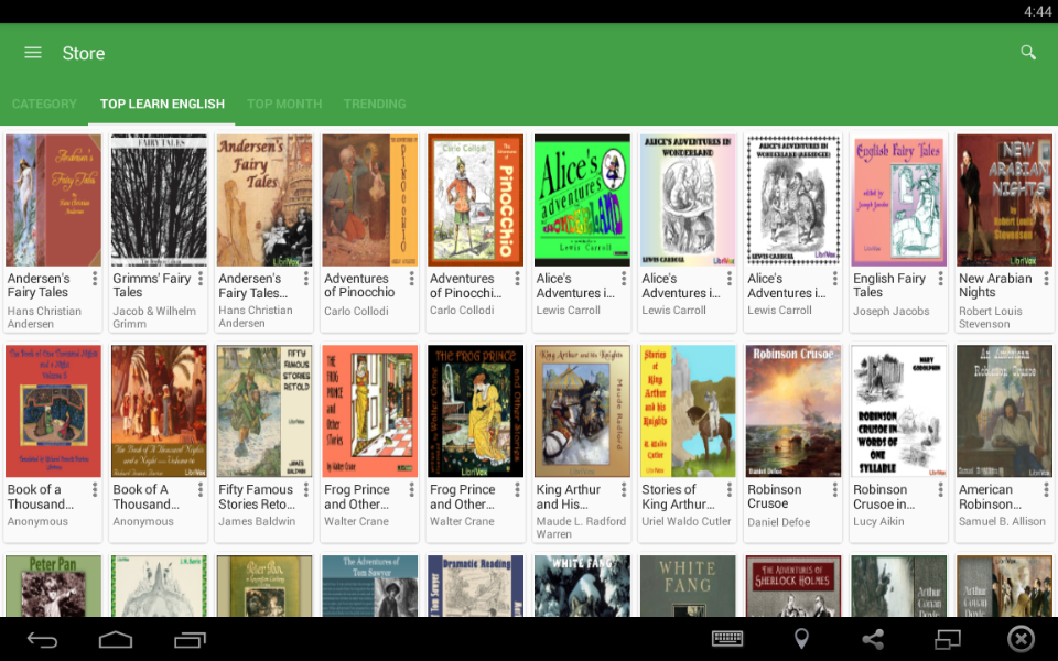 Learn English By Audio Book » Apk Thing - Android Apps Free