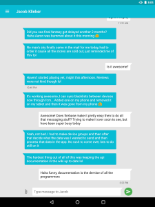 Messenger (Text Messaging) (Unreleased)