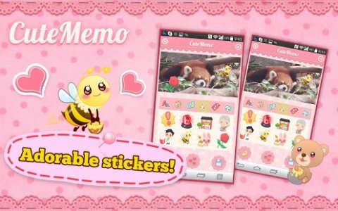 Cute Memo: Cloud Sticky Notes