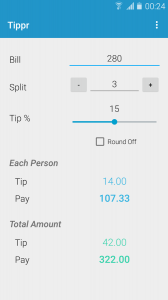 Tippr - Simple Tip Calculator
