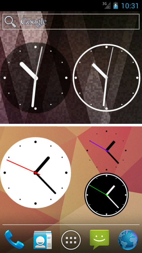 Simple Analog Clock [Widget] » Apk Thing - Android Apps Free Download