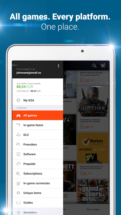 g2a game stores marketplace apk thing android apps free download