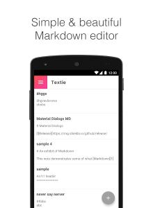 Textie Markdown Editor