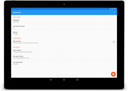 ScreenCam Screen Recorder