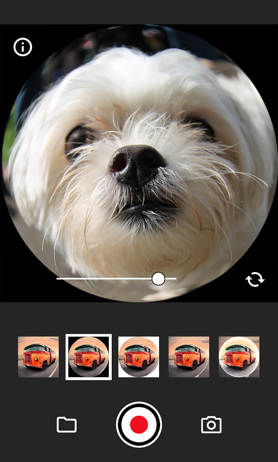 Fisheye lens video apk thing android apps free download for Fish eye lense app