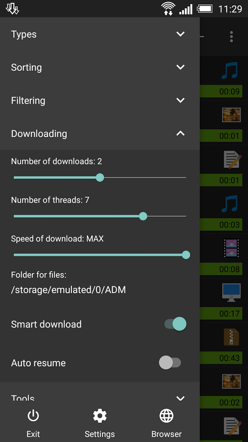 Advanced Download Manager » Apk Thing - Android Apps Free Download