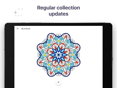 Coloring Book For Me Mandala