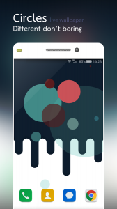 Circles Live Wallpaper Free