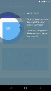 Match Maker - Scoreboards