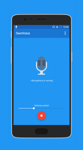OwnVoice - microphone