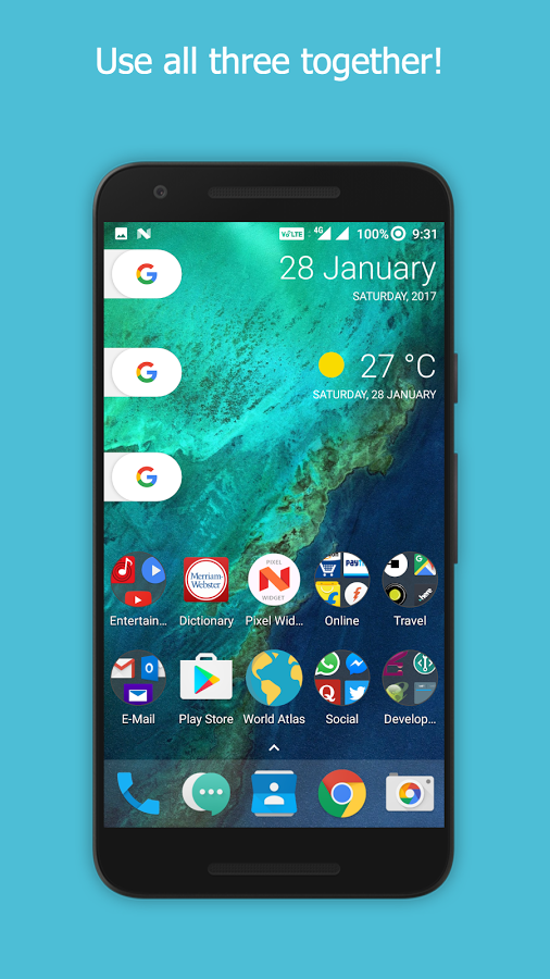 Pixel Widget -The Pill Weather » Apk Thing - Android Apps Free Download
