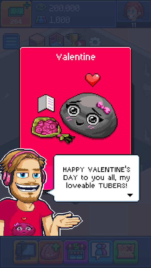 Image currently unavailable. Go to www.generator.pickhack.com and choose PewDiePie's Tuber Simulator image, you will be redirect to PewDiePie's Tuber Simulator Generator site.