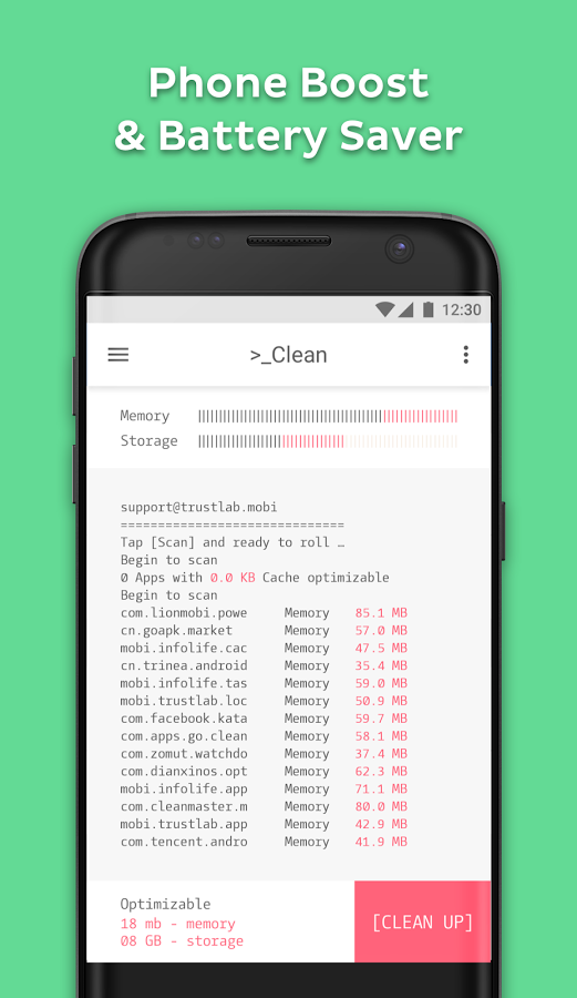 Prompt Cleaner - Small & Fast » Apk Thing