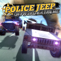 Police Jeep Offroad Extreme