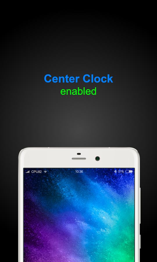 Miui Center Clock Unofficial 187 Apk Thing Android Apps