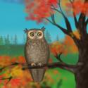 Owl of a Season Live Wallpaper