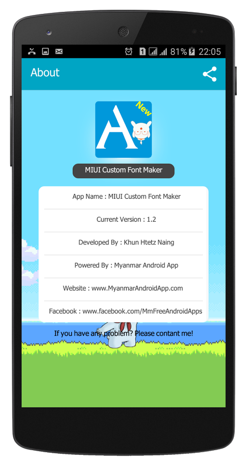 MIUI Font Maker(Font2MTZ) » Apk Thing - Android Apps Free