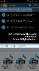 Repeat Voice Recorder