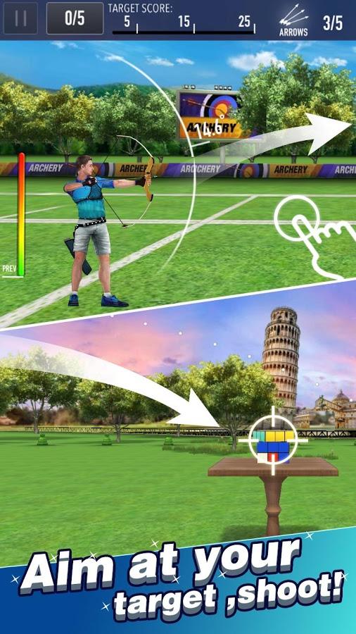 Скачать Archery Master 3D взломанный на андроид