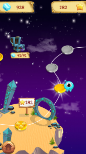 Lumens World- Fun stars and crystals catching game