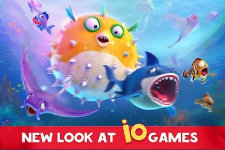 Fish now online io game pvp battle apk thing for Fish io games