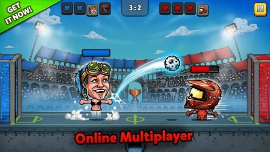 Puppet Football Fighters - Steampunk Soccer