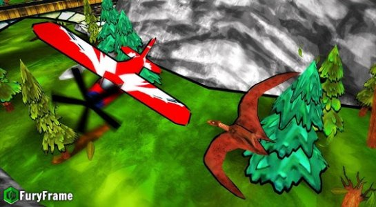 Dino Escape: City Destroyer