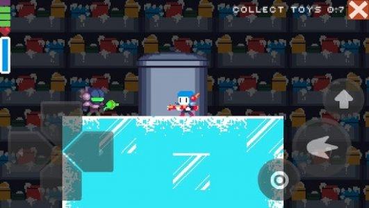 Christmas pixel platformer