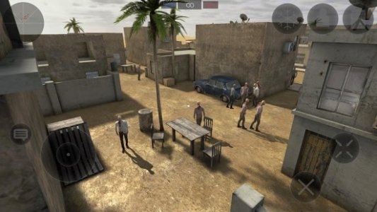 Zombie Combat Simulator