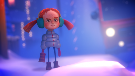 Merry Snowballs (Mobile, 360 & Cardboard)